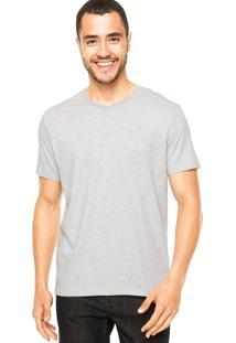 Camiseta Vila Romana Logo Cinza