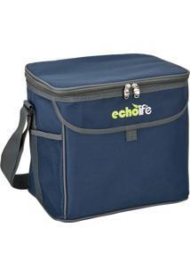Bolsa Térmica Blue 19 Litros Com Alça Ajustável - Echolife