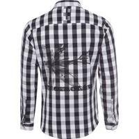 Camisa Masculina Young Americans - Preto E Branco 9b486bfcdeec8