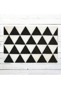 Capacho - Triângulos P&B