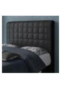 Cabeceira Box De Casal Rubi Com 160 Cm De Largura - Js Móveis