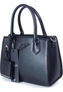 Bolsa Mini Bag Ellus Feminina - Feminino-Preto