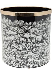 Fornasetti Cesto De Lixo Jerusalem - Preto