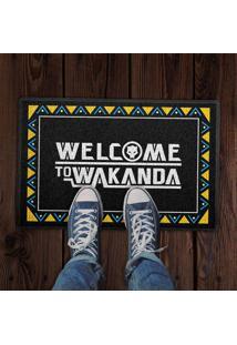 Capacho Welcome To Wakanda 0,40X0,60M Beek