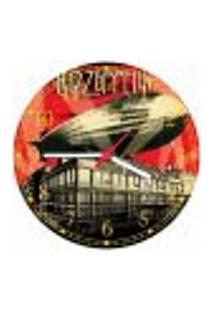 Relógio De Parede Banda Led Zeppelin Decorações Salas Quartos