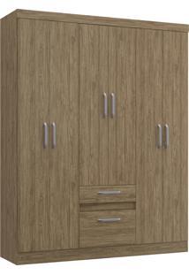 Guarda-Roupa 6 Portas 2 Gavetas Ágata Decibal Moveis Wood