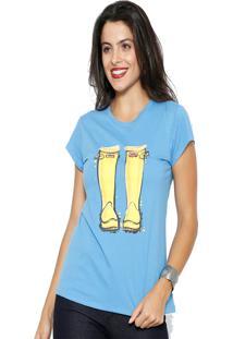 Camiseta Club Polo Collectionyellow Par Azul