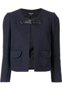 Paule Ka Front Buckle Jacket - Azul