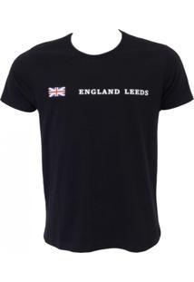 Camisa England Leeds Preta
