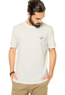 Camiseta Nautica Estampada Off White