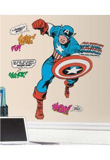 Capitão América Cartoon Gigante