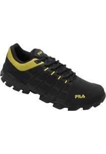 Tênis Fila Crawler - Masculino-Preto+Amarelo