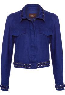 Jaqueta Feminina Royal - Azul