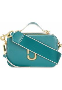 Marc Jacobs Bolsa Transversal The Sure Shot - Azul