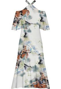 Vestido Longo Estampado Kyoto - Lez A Lez