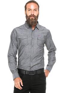 Camisa Dixie Reta Cinza