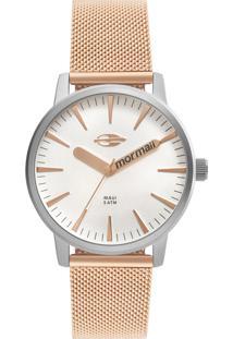 Relógio Mormaii Feminino Dourado Mo2036Hy4K - Kanui