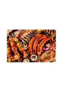 Painel Adesivo De Parede - Churrasco - 490Pn-M