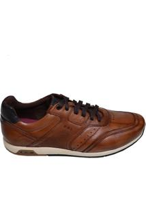 Sapato Masculino Ferrielli Bronze/Marinho