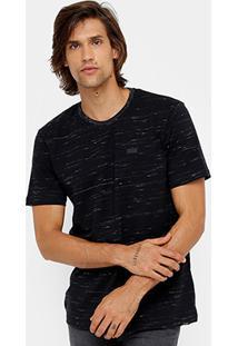 Camiseta Globe Flamê Leather Tag Masculina - Masculino