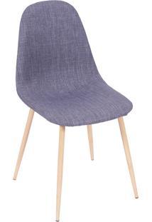 Cadeira 1112-Or Design - Azul / Madeira