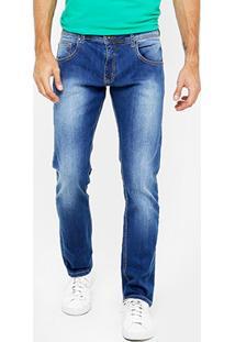 Calça Jeans Reta Colcci John Indigo Masculina - Masculino