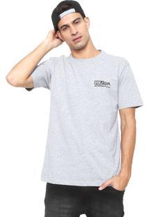 Camiseta Volcom Maag Cinza