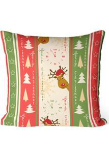 Capa De Almofada Love Decor Avulsa Decorativa Merry Christmas - Bege - Dafiti