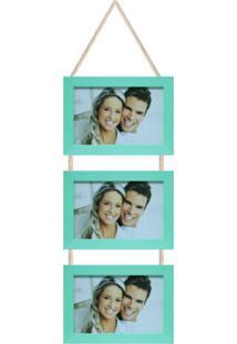 Porta-Retrato 10X15 Simple Azul