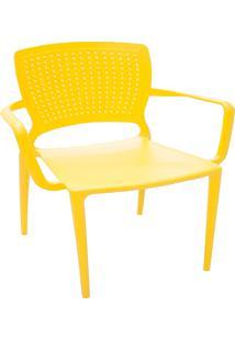 Cadeira Safira Amarela - Tramontina
