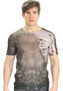 Camiseta Klauk Águia Marrom