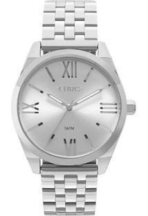 Relógio Feminino Euro Eu2035Ynh/3K 40Mm Pulseira Aço - Feminino-Prata