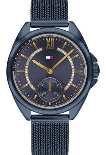 e0f4ca2d848 ... Relógio Tommy Hilfiger Feminino Aço Azul - 1782004
