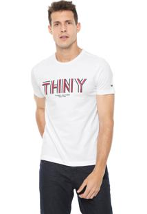 Camiseta Tommy Hilfiger Thny Branca