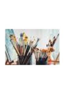 Painel Adesivo De Parede - Pincéis - Pintura - 939Png