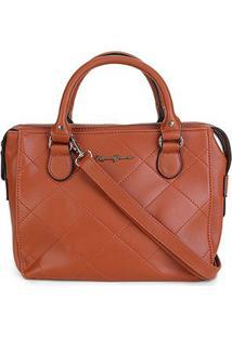 Bolsa Rebecca Bonbon Handbag Feminina - Feminino-Caramelo