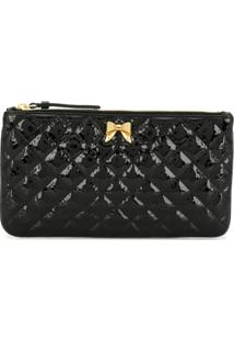 Moschino Quilted Clutch Bag - Preto