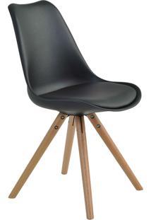 Cadeira Luisa Preta Rivatti Móveis