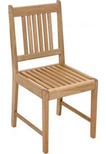 Cadeira Para Jardim Em Madeira Maciça Ipanema Mestra Polisten Jatobá