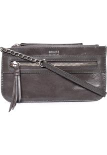 Bolsa Feminina Crossbody Pocket - Cinza