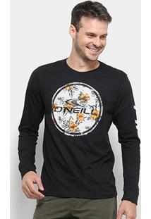 Camiseta O'Neill Boarder Manga Longa Masculina - Masculino