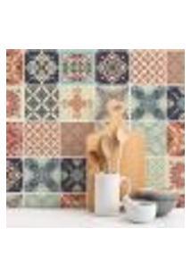 Adesivo De Azulejo Cozinha Cerâmico 20X20Cm 24Un