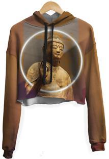 Blusa Cropped Moletom Feminina Over Fame Buda Md01 - Kanui