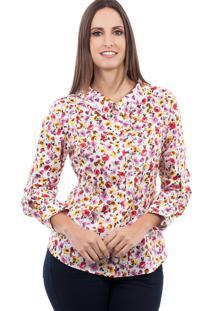 Camisa Love Poetry Floral Rosa