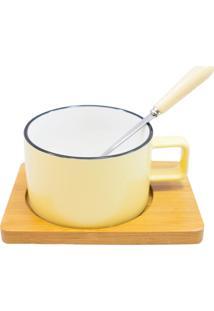 Caneca Minas De Presentes Porcelana Amarelo