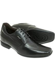 Sapato Social Sândalo Com Elevação Up Masculino - Masculino-Preto