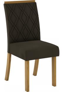 Cadeiras Para Cozinha Vita Nature/Marrom - Henn