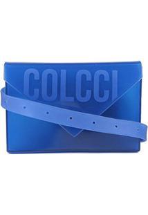 Bolsa Colcci Medelin Feminina - Feminino-Azul