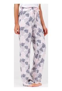 Calça De Pijama Estampada