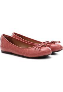 Sapatilha Dumond Essential Colors Feminina - Feminino-Coral
